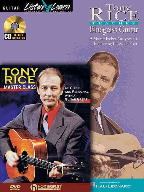 Tony Rice Teaches Bluegrass Guitar By Rice, Tony